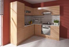 NELA kombinácia rohová 2 Buk 04 / Buk 07 Kitchen Cabinets, Bob, Home Decor, Decoration Home, Room Decor, Cabinets, Bob Cuts, Home Interior Design, Bob Sleigh