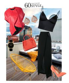 """""""60 Second Style"""" by women-miki ❤ liked on Polyvore featuring Ann Demeulemeester, Liliana, T By Alexander Wang, Comme des Garçons, Kate Spade and FOSSIL"""