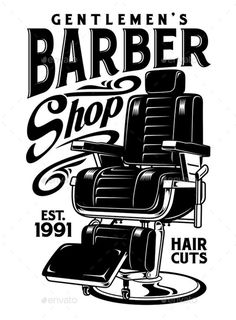 Barber Poster, Barber Logo, Gentleman Barber Shop, Retro Design, Logo Design, Mobile Barber, Logos Vintage, Barber Shop Decor, Barbershop Design