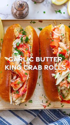 Lobster Recipes, Crab Recipes, Wine Recipes, Cooking Recipes, Savoury Recipes, Seafood Appetizers, Seafood Meals, Good Food, Yummy Food