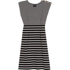 spring stripes  - agnes b dress
