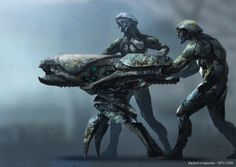Discover this amazing gallery with Guardians Of Galaxy Concept Arts just unveiled by MPC... http://www.dailymotion.com/video/x1xku44_guardians-of-the-galax