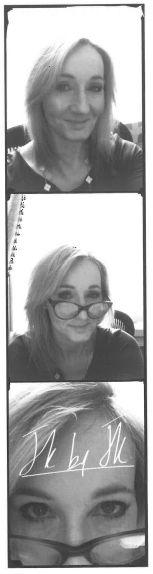 JK Rowling selfie! <3