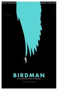 #Birdman #Movie #poster #movieposter