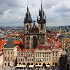 Church of Our Lady in Prague--I kick myself for not taking a closer look at this church when we visited Prague.