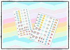 """Sticker """"Meteo"""" di MamiGio su Etsy"""