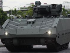 The next-generation armoured fighting vehicle is expected to be inducted into the Singapore Armed Forces in 2019. Image courtesy of Government of Singapore. - Image - Army Technology