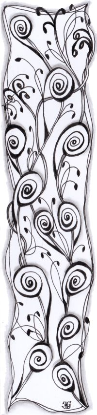bladwijzer 24 Bookmarks, Zentangle, Alexander Mcqueen Scarf, Coloring Pages, Pages To Color, Colouring Pages, Zen Tangles, Kids Coloring, Zentangles
