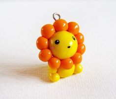 Craft ideas 10603 - Pandahall.com #lion #cutecharm #pandahall