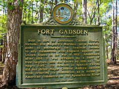 """Fort Gasden """"Negro F"""
