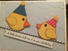 A little bird told me it's your birthday!