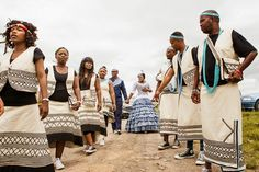 xhosa traditional dresses designs - Google Search Xhosa Attire, African Attire, African Wear, African Women, African Fashion, Traditional Dresses Designs, African Traditional Dresses, Traditional Weddings, Stylish Outfits