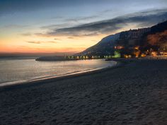 A January #sunset on the #Amalficoast