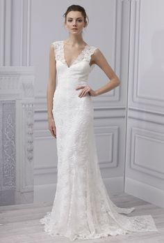 Wedding Dress - Monique Lhuillier