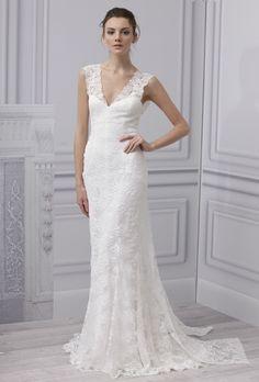 Wedding Dress - Monique Lhuillier