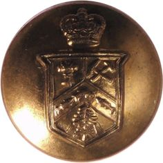 Regiment Blinde Du Canada - Military uniform button for sale Queen Elizabeth Crown, Buttons For Sale, Canada, Armed Forces, Museum, Military, Special Forces, Museums, Military Man