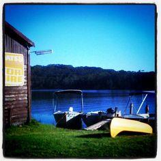 Lake Conjola, loving the yellow!