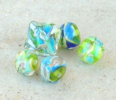 Lampwork Beads Under the Sea Summer Fashion