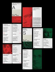 Cindy Kutikova – Visual identity for Prague Philharmonia Book Cover Design, Book Design, Layout Design, Web Design, Typography Layout, Typography Poster, Typography Inspiration, Graphic Design Inspiration, Layout Inspiration