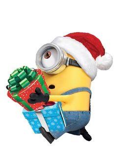 Merry Christmas Minions, Diy Christmas Cards, Christmas Themes, Christmas Tree Ornaments, Happy New Year Minions, Contemporary Christmas Ornaments, Christmas Story Books, Christmas Classroom Door, Minions Funny Images