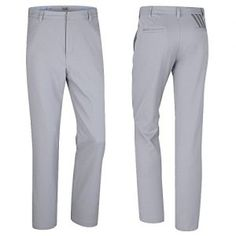 """""""NEW 2016"""" ADIDAS PUREMOTION® CLIMALITE 3-STRIPE MENS GOLF TROUSERS / PANTS MID…"""