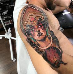 Tattoo de hoje! Trabalho feito em 6hs!