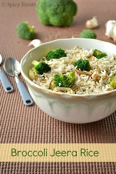 Spicy Treats: Broccoli Jeera Rice