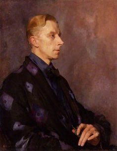 Ernest Frederic Graham Thesiger, 1920 by Sir Gerald Kelly (1879-1972) - Actor. Thesiger was a contemporary of Augustus John at the Slade School of Art in the 1890s and continued to paint and exhibit. His acting career began as an amateur, but invalided out of the War in 1915, he progressed to the professional stage. G. B.Shaw adopted him as one of his favourite actors. He appeared in Gielgud's wartime Macbeth and continued to appear on stage until the last weeks of his life.