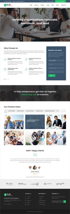 F & O is a wonderful #PSD template for finance and #consultant service company websites download now➩ https://themeforest.net/item/fo-consultant-finance-psd-templates/19311750?ref=Datasata