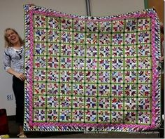 Tulip Fields, Quiltville Show and Tell