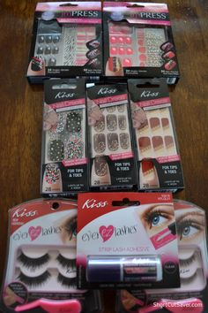 Kiss Nail Products