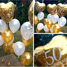 So pretty for golden 50th anniversary!