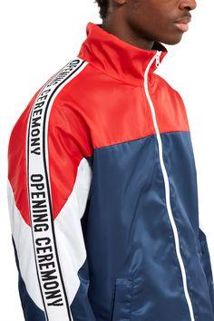 Opening Ceremony - Nylon Twill Logo Jacket