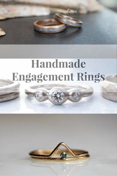 I am a lover of all things handmade and am completely addicted to Etsy. You can find anything there! Lately, I've become obsessed with handmade jewelry. I thought I'd share a couple of my favorite stores in case you were looking for a perfect ring for that special someone.