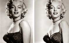 noviembre 2013 estrellasdecineclasico.blogspot.com994 × 624Buscar por imagen En la década de los años 50, los censores decidieron añadir un trozo de vestido a la altura del pecho de la estrella estadounidense Marilyn Monroe con el resultado que puede verse en belleza y mujer, fotos de epoca - Buscar con Google