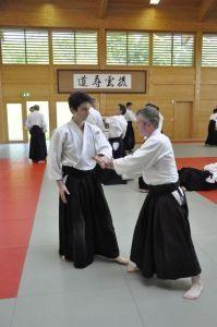Aikido Lehrgang des österreichischen Aikidoverbands im Budokan Wels, Mai 2015 - Morotedori