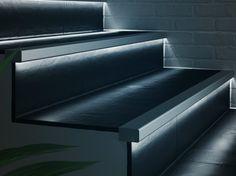 Perfiles esquineros de aluminio con LED PROLIGHT PROSTEP G/8 LED Colección Prolight by PROFILPAS