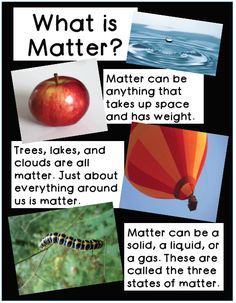 "Check out ""Matter Unit: Inquiring Minds Want to Know"". The inquiry based activities in this unit will introduce your budding scientists to the properties of matter through hands on fun."