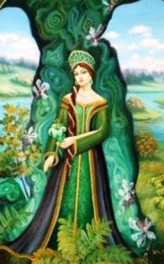 Landlady of the Copper mountain (russian fairy tale)