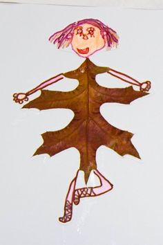 folha Leaf Crafts, Fall Crafts, Crafts To Make, Arts And Crafts, Autumn Art, Autumn Theme, Projects For Kids, Art Projects, Art Lessons Elementary