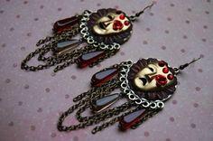 Kabuki Earrings