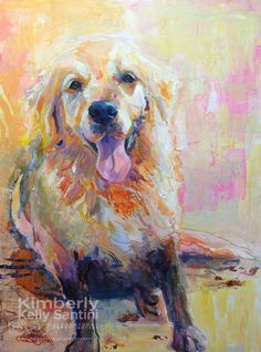 """Paintings With Soul - What's a Little Mud by Kimberly Kelly Santini, 18"""" x 24"""" x 1-1/2"""", $2299"""