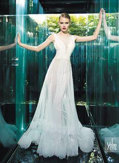 YOLAN CRIS Bridal Collection 2015 | Vintage Couture - Cindy