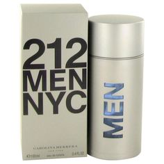 212 By Carolina Herrera Eau De Toilette Spray 3.4 Oz