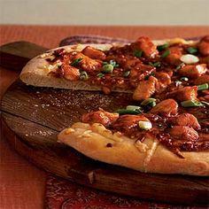 Malaysian Chicken Pizza | MyRecipes.com