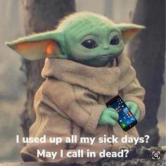 Yoda Meme, Yoda Funny, Silly Jokes, Funny Memes, Hilarious, Police Memes, Star Wars Baby, Star Wars Humor, Grumpy Cat