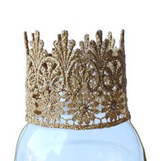 Gold Lace Crown for Child/Toddler by The Crafting Studio