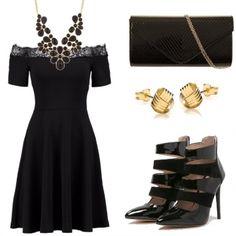 Outfit Di nero vestita