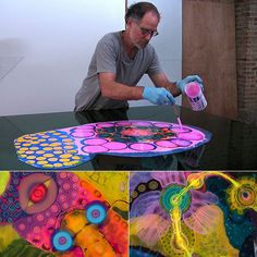 Bruce Riley - amazing work with collors