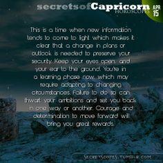 Capricorn Horoscope. Want more horoscopes?  Visit iFate.com today!
